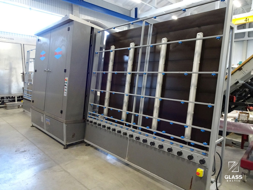 MALNATI 2000VCA - vertical glass washing machine, 2000 mm, l-r