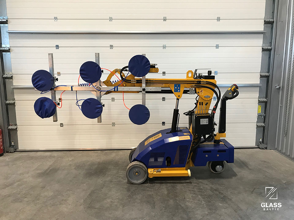 QUATTROLIFTS VECTOR 400 - glass transportation and installation machine, 400 kg