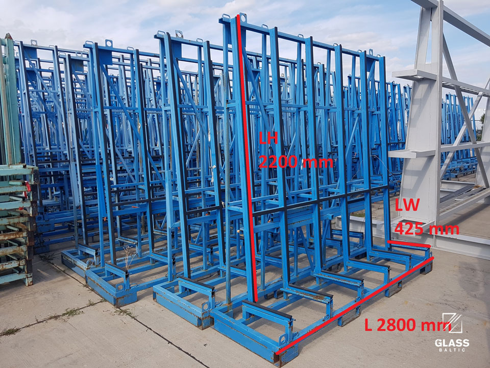 SMT GTG-L 2800mm - glass rack