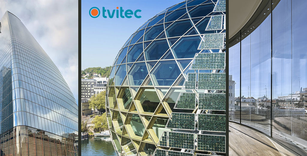 Curved Glass - TVITEC SYSTEM GLASS - 306146