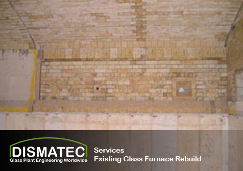 Existing Glass Furnace Rebuild